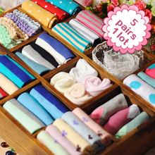5 pairs/lot Women Socks Short Female Low Cut Ankle Ladies Chaussette Femme Summer All-Match Boat Girl