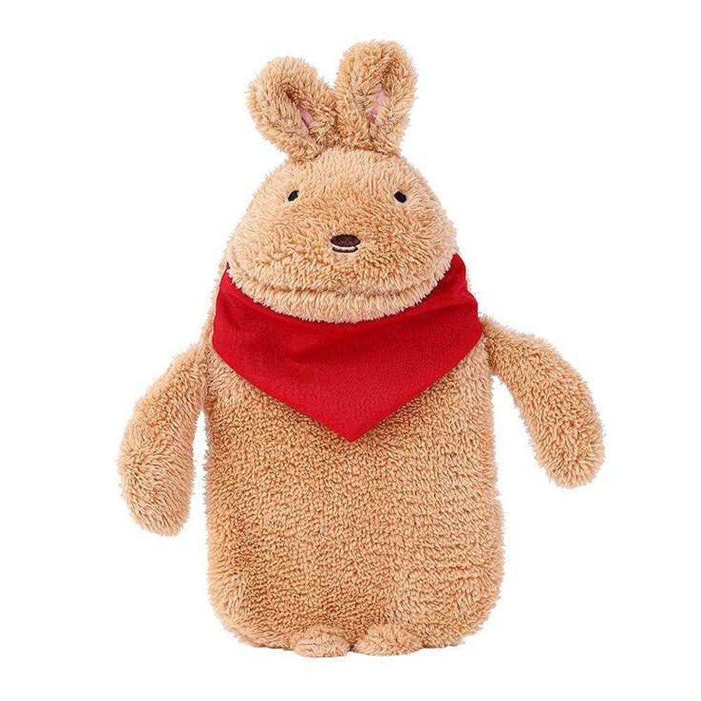 Грелка для рук теплая водонепроницаемая сумка прочная ворсовая теплая Подарочная компресс с солью кролика - Цвет: 3