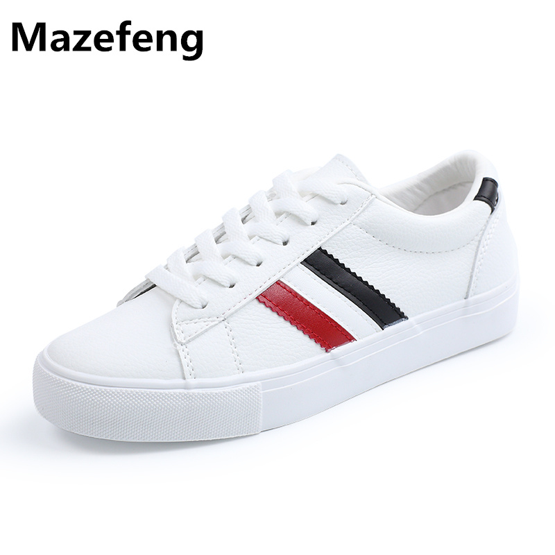 Korean Students Lace White Canvas Shoes Woman 2017 New Spring Casual Shoes Woman All-Match Zapatos Mujer A015 Chaussure Femme pearl white canvas shoes shoes white shoes all match flat flat with lace shoes in autumn korean students