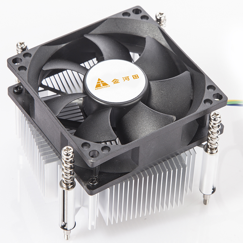 bis zu 125 Watt K/ühlleistung durch 80 mm PWM L/üfter GOLDEN FIELD ICE500 CPU-K/ühler Prozessork/ühler f/ür Intel-CPUs