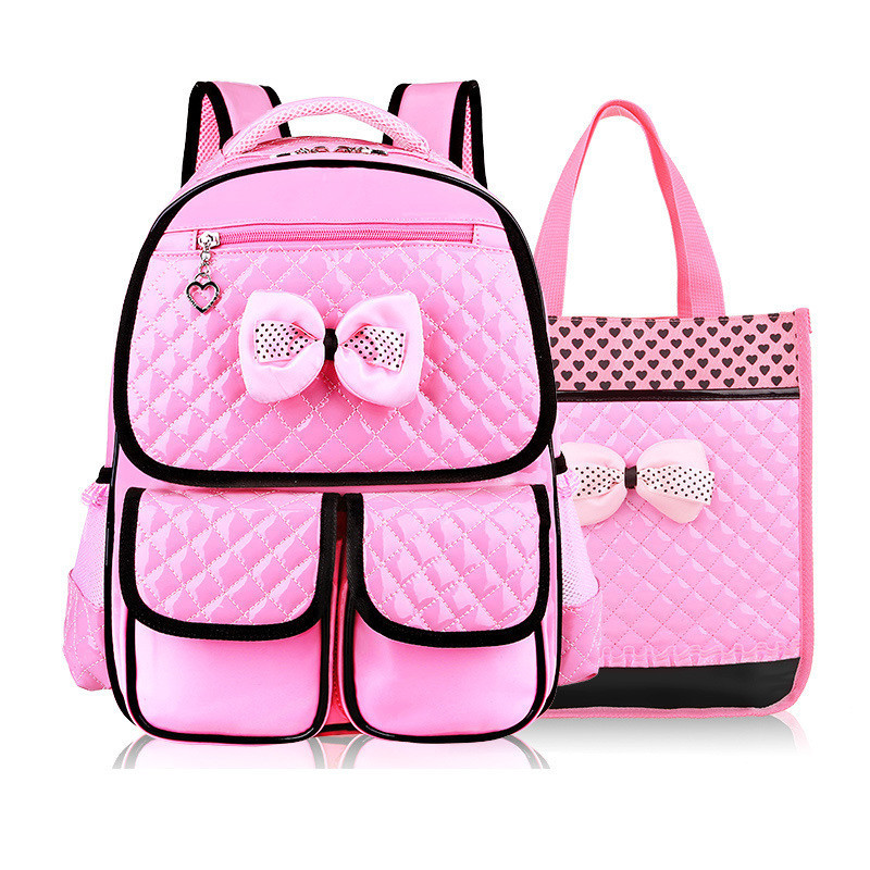 Hot New Cute Princess Pack Children School Bag High Quality PU Waterproof Alleviate Burdens Backpack Fashion Backpacks Mochila