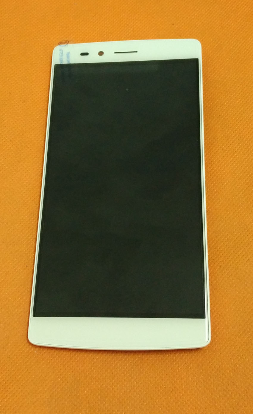 Used Original LCD Display Touch Screen Digitizer Frame for Vernee Apollo Lite MTK6797 Deca Core 5