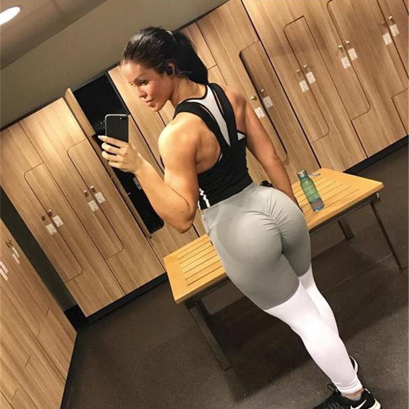 Women Pant 2018 Workout Leggings High Elasticity Leggins De Fitness Top Legging Push Up Bodybuilding Womens Plus Size Fashions