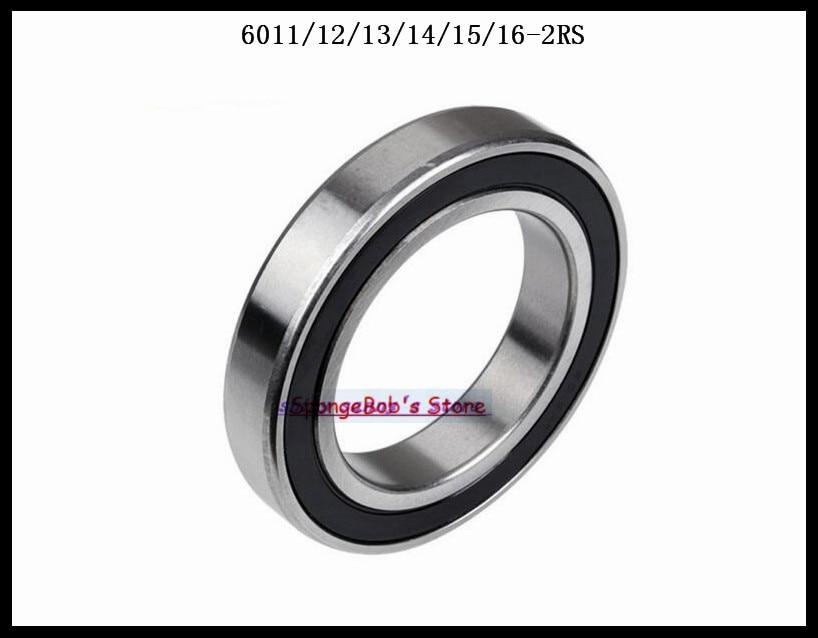 792c1964fc7 Ξ1 шт. 6012-2RS 6012 RS 60x95x18 мм Резина Герметичный радиальный ...