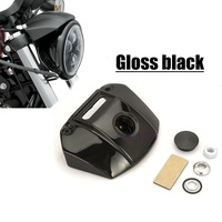 Motorcycle headlight gloss black Mount Bracket cover headlight bracket For Harley Sportster XL 883 1200 Models