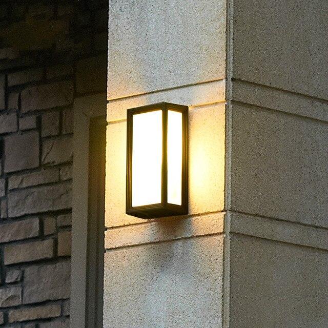 Remarkable Fashion Modern Brief Vintage Outdoor Wall Lamp Waterproof Lighting Wiring 101 Ferenstreekradiomeanderfmnl
