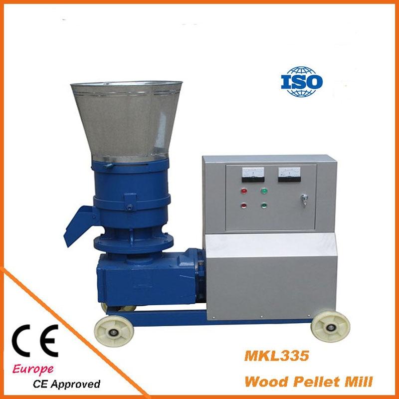 MKL335 Pellet Press 22KW Wood Biomass Pellet Mill With Motor