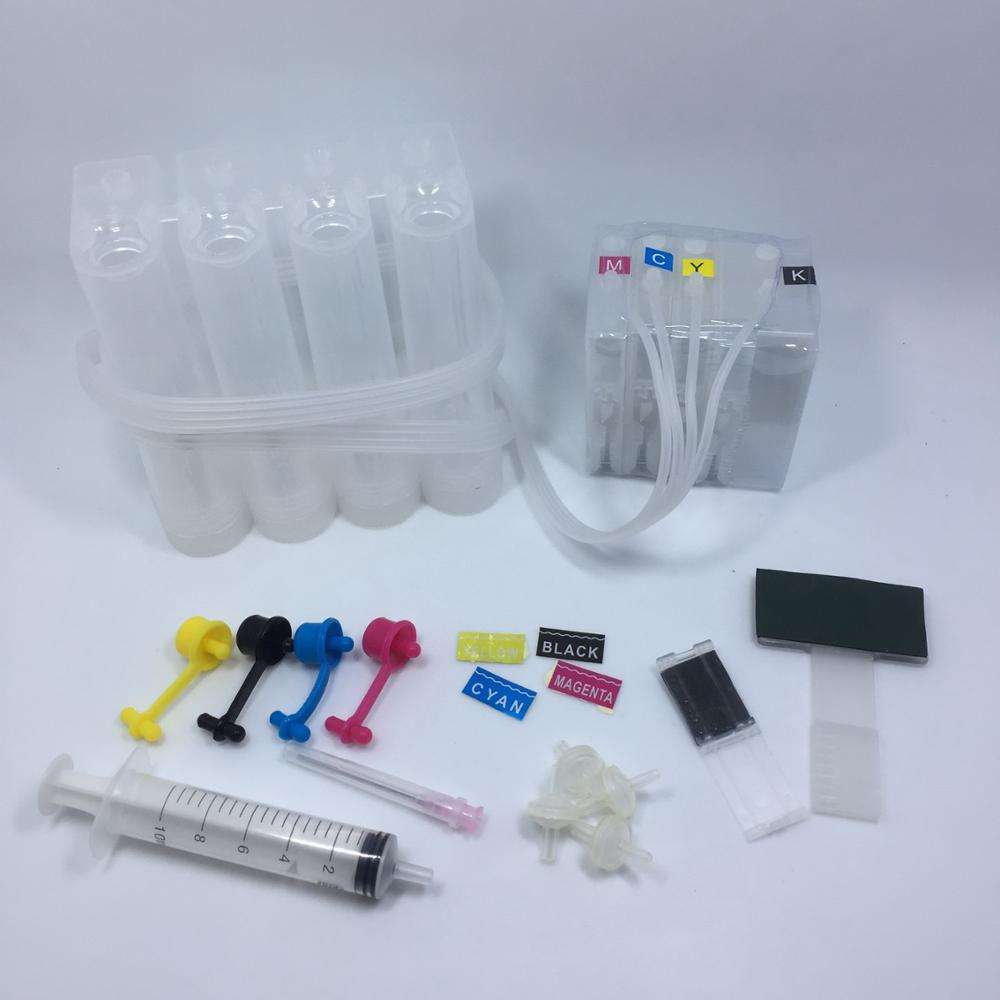 YOTAT Empty 711 CISS ink cartridge for HP711 HP 711 XL Designjet T120 24-in ePrinter T520 24-in ePrinter плоттер hp designjet t120 eprinter cq891c a1 24 usb lan wi fi