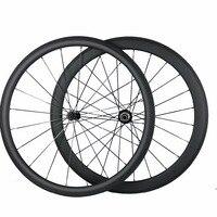 Petite en gros pas cher carbone roue profondeur 38 MM 50 MM 60 MM 88 MM pneu tubulaire carbone route vélo roues|Roue de vélo| |  -