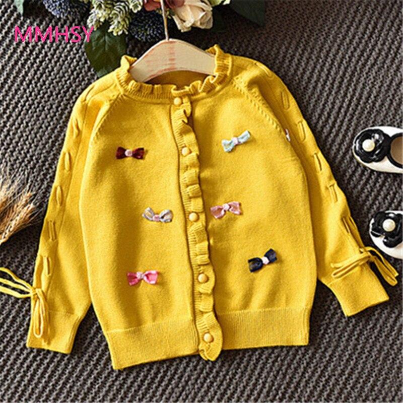 2017 meisjes mode trui gebreide trui herfst winter van kinder trui - Kinderkleding - Foto 2