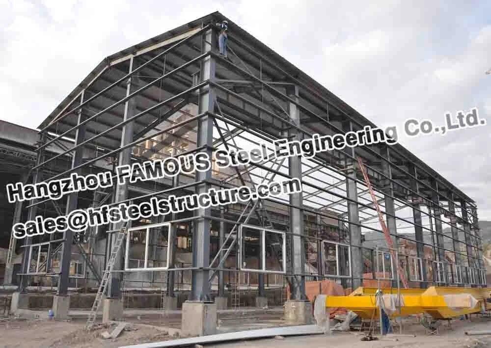 Desain Konstruksi Struktur Baja Gudang Industri Fabrikasi Fabrication Aliexpress
