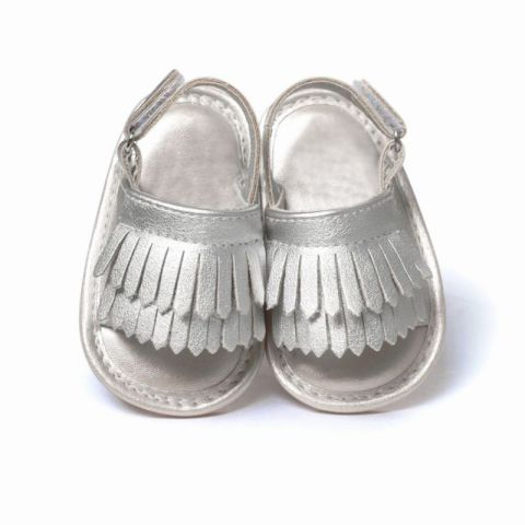 Baby Sandals PU Baby Girl Shoes Newborn PU Tassel Fashion Baby Girl Sandals 9 Color Baby Boy Shoes 2018 Summer Boy Sandals Multan