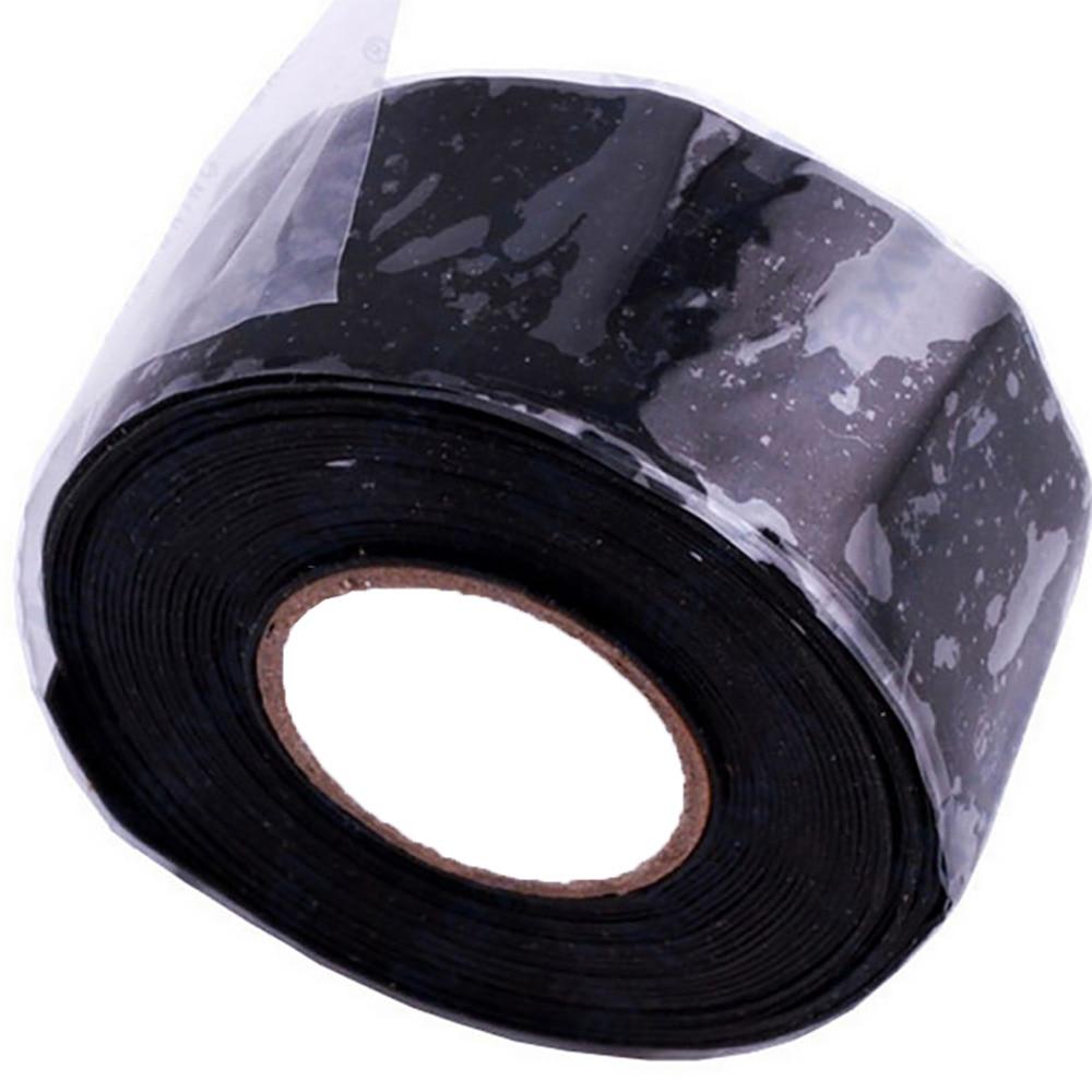 Self-Fusing Silicone Tapes Waterproof Repair Sealed Insulating Belt Black Super Strong Flex Leakage Repair Waterproof Tape New