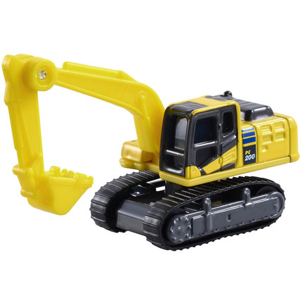 US $10 11 21% OFF TO MY 1:122 KOMATSU EXCAVATOR PC200 10 boutique alloy car  toys for children kids toys gift original box freeshipping-in Diecasts &