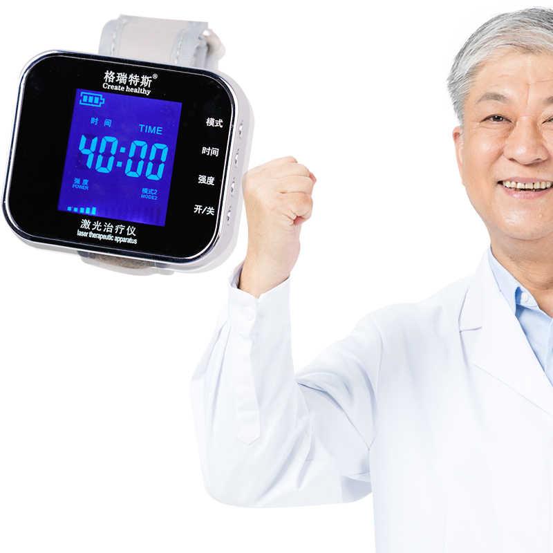 650nm opieki zdrowotnej terapii laserowej na rękę niskiej częstotliwości nadciśnienie tętnicze hiperlipidemii nadmierna lepkość poziom cholesterolu leczenie światłem zegarek
