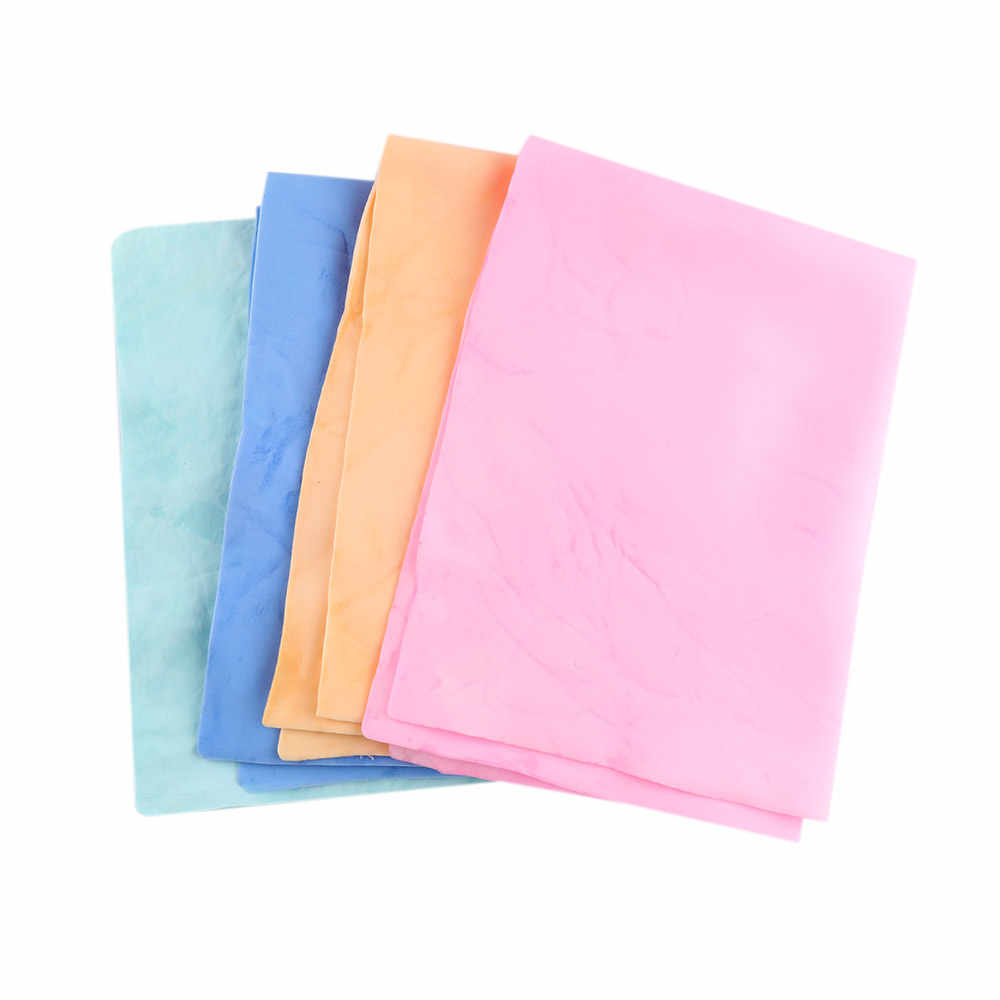 1/5pcs Cleaning Towel Kitchen Super Absorption Carwash Care Synthetic Suede Rags Dry Hair Towel Multifunction Cleaning Cloths