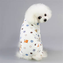 Summertime Pet Dog Clothes Rompers Overalls Jumpsuit Small Costume Puppy Outfit Dropshipping Clothing Apparel Pants