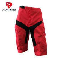 FURY RACE 2017 MTB Downhill Shorts Mountain Bike BMX Shorts Men's Red Cycling Sportwear Motorcycle Motocross DH Bicycle Shorts