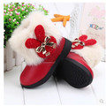 new 2016 snow boots baby boots boot children shoes winter shoes for girls Free Shipping Genuine Leather Soft comfortable 1-798