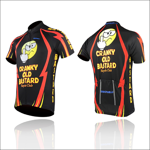 dc202a9a7 New Cranky Old Bastard Alien SportsWear Mens Cycling Jersey Cycling  Clothing Bike Shirt Size S TO