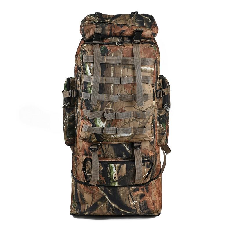 цена на 100L Military Molle Bag Camping Tactical Backpack Men Nylon superlight Backpacks Hiking Travel Outdoor Sport Bags Rucksack