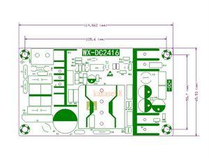 Image 2 - Convertisseur AC 110v 220v à cc 36V MAX 6.5A, 100W, transformateur réglementé, pilote, chargeur dalimentation LED