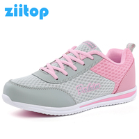 2017 New Spring Summer Zapato Women Breathable Mesh Zapatillas Shoes For Women Network Soft Running Shoes