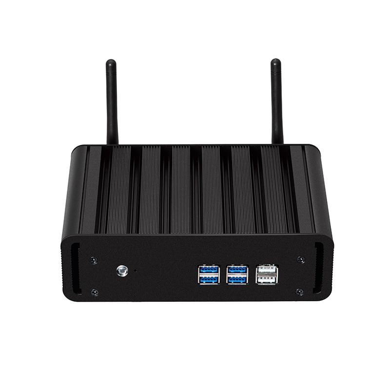 5th Generation Intel Core Mini PC I3 5005U I5 5200U I7 5500U Windows 10 Linux HTPC 300M WiFi Gigabit Ethernet HDMI VGA 6xUSB