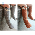Rodilla calcetines Del Niño recién nacido Del Bebé bebe Chica fox calcetines de algodón Lindo Gato Animal de la Historieta calentadores de la pierna Para los recién nacidos infantil
