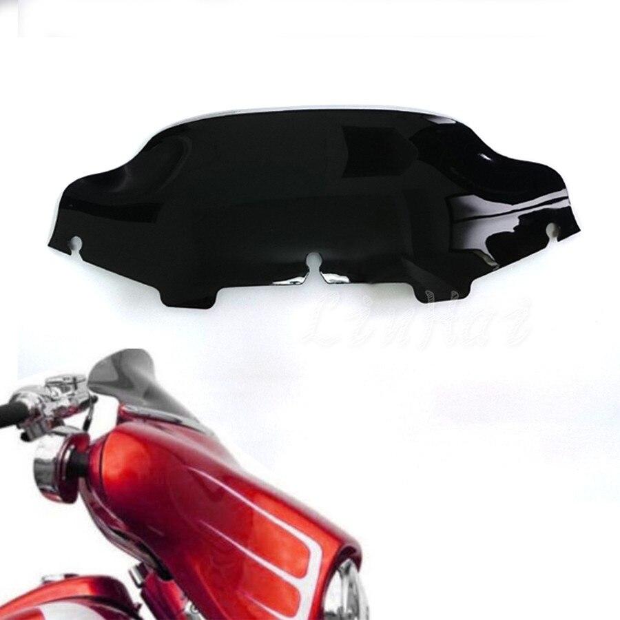 6 Windshield Windscreen Motorcycle For Harley Touring Electra Glide 1996-2013 Fairing Wind Shield Screen Deflectors Automobiles & Motorcycles Windscreens & Wind Deflectors
