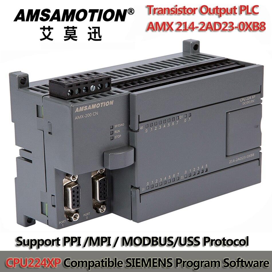CPU224XP S7-200 PLC Programmable Controller 24V PLC Programmable Transistor Output Programmable Logic Controller