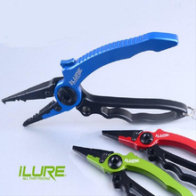 Fishing Pliers Gripper Grip Holder Tackle with Sheath Retractable Buckle Rope Lanyard Outdoor Product