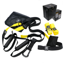 Resistance Band Suspension Trainer Hanging Belt Full Body Workout Pull Rope Straps Fitness Trainer Home Gym Exercise