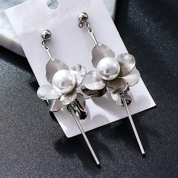 Fashion Metal Dangle Earrings Earrings Jewelry Women Jewelry Metal Color: M38177