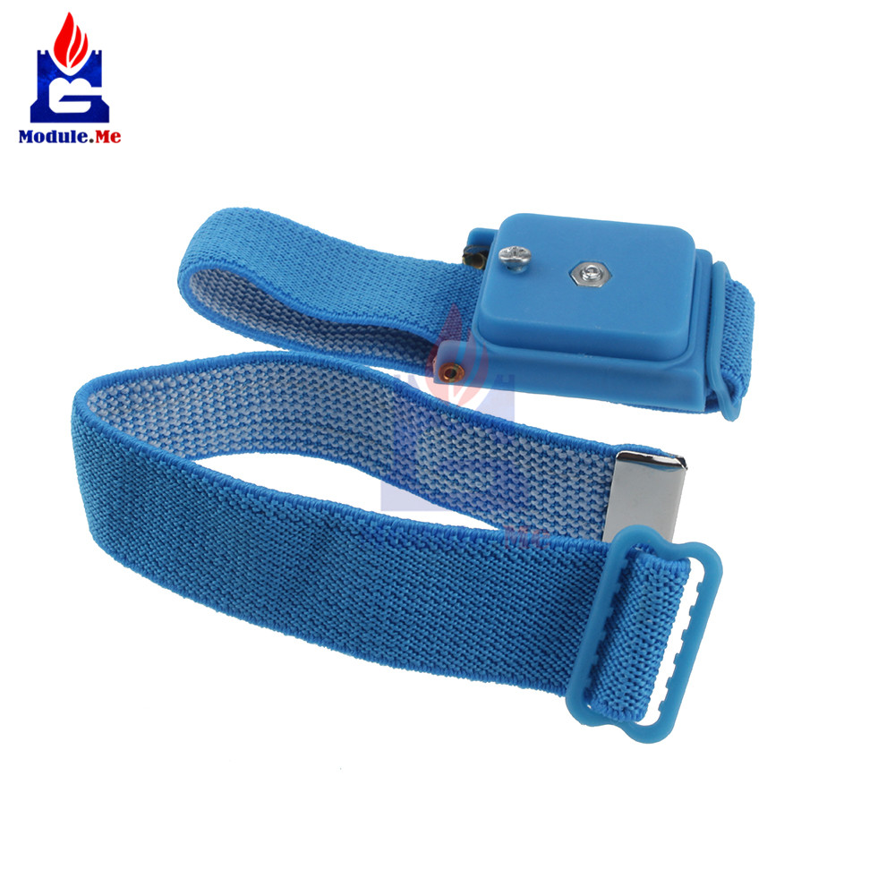 Kind-Hearted Free Shipping Anti Static Anti-skid Esd Adjustable Discharge Wrist Strap Band Grounding Bright In Colour Power Tool Accessories