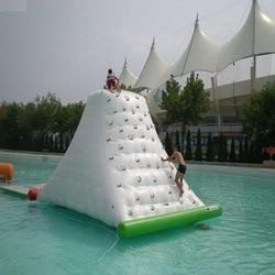 Вода Айсберг надувная игрушка аквапарк Размер 4*3*2,5 м игра летом вода скалолазание