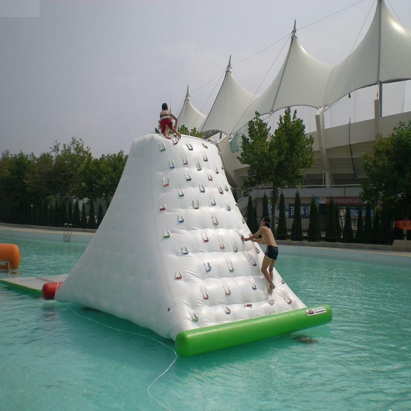 Water  Iceberg  Inflatable Toy Water Park  Size  4*3*2.5 M  Playing In Summer Water Rock Climbing