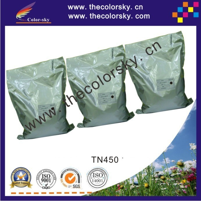 (TPBHM-TN450) high quality black laser toner powder for Brother HL-2130 HL-2250 HL-2270 HL-2132 HL-2132R 1kg/bag Free fedex