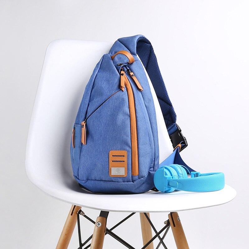 New Group Messenger Bag Men Fabric Multipurpose Chest Pack Sling Shoulder Bags for Men Casual Crossbody Bolsas 2018 New Fashion