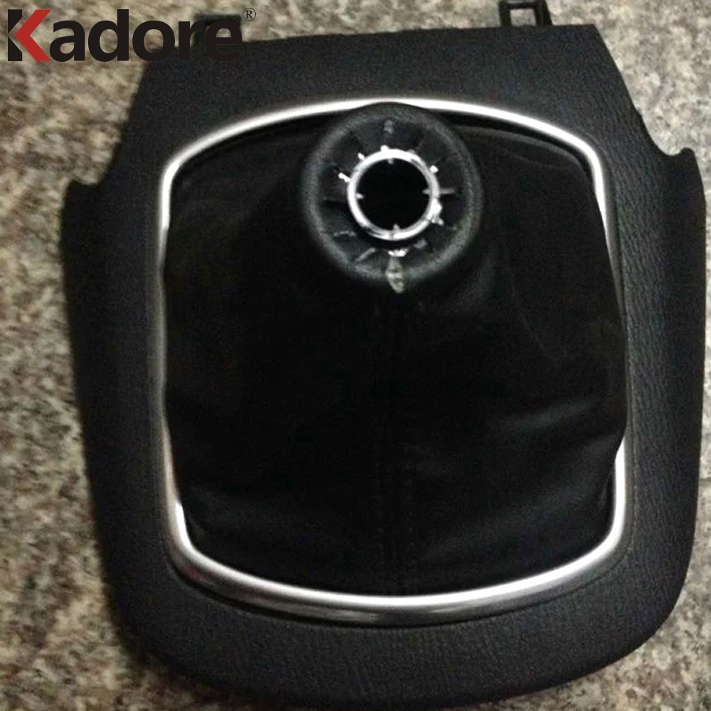 For <font><b>Mazda</b></font> CX-5 <font><b>CX5</b></font> 2012 2013 2014 <font><b>2015</b></font> ABS Matte MT Shift Gear Panel Ring Cover Trim Auto <font><b>Accessories</b></font> LHD 1pc/set image