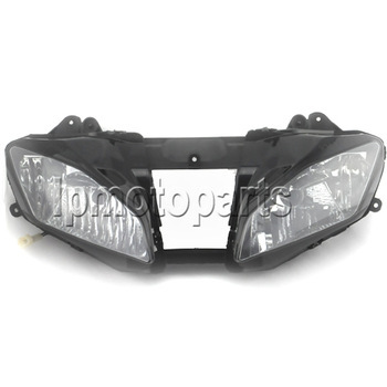 Motorcycle Front Headlight Headlamp Assembly Fit Yamaha YZF R6  2008 2009 2010 YZFR6 YZF-R6 08 09 10 Head Light New