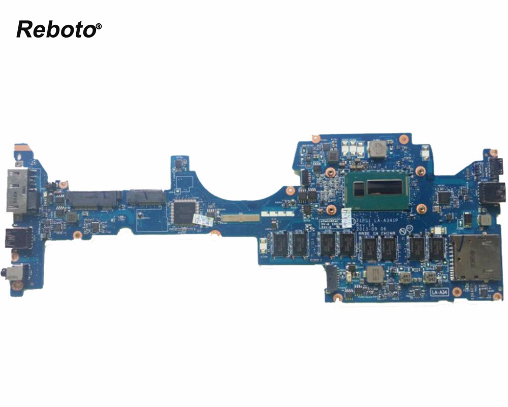 High quality Laptop Motherboard For Lenovo Yoga S1 With SR16Z i7 4500 1 80GHz 8GB RAM