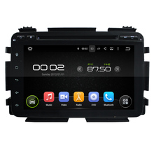 "8 ""octa-core Android 6.0 Reproductores multimedia para coches para Honda HRV vezel 2015 envío mapa video audio estéreo DVD del coche jugador"