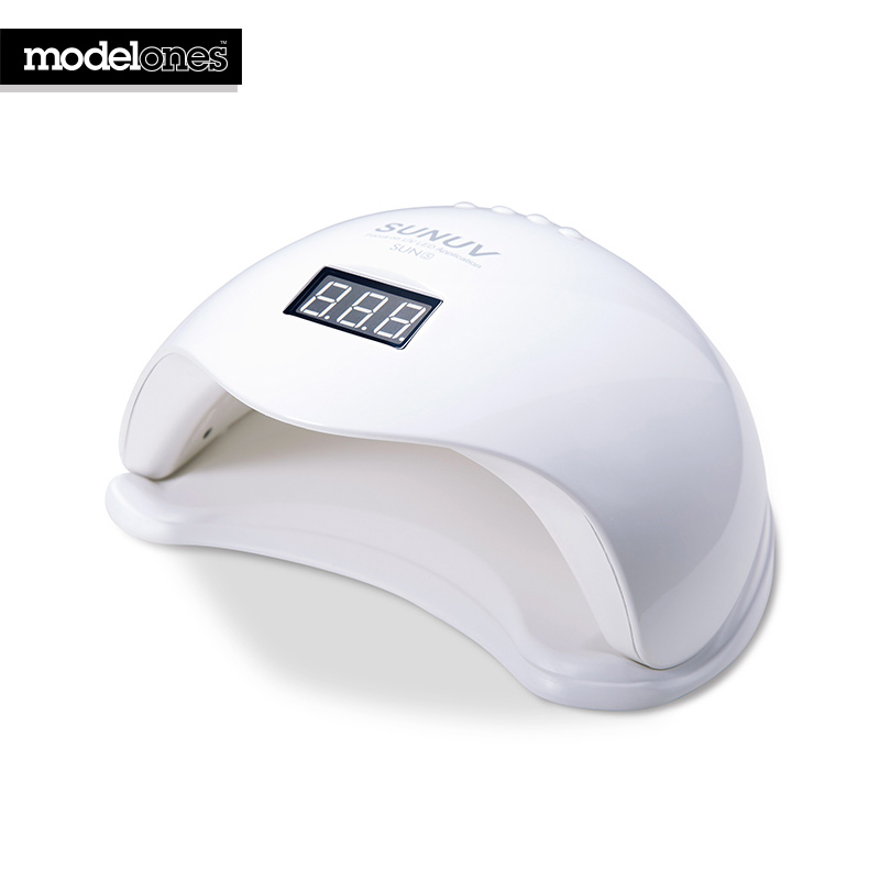 Modelones SUN5 UV Led Nail Lamp 48W UV Nail Dryer For Cure UV Nail Gel Polish Nail Art Manicure UV Led Lamp Machine Tools new pro 48w nail lamp manicure dryer fit uv led builder gel all nail polish nail art tools sun5 professional machine
