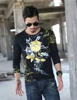 Newest Design 2017 Casual Fashion Men Shirt Hip Hop Street Rock Style Men S Tops Male