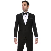 цена на Gramercy Mens Super Slim Fit Groom Tuxedos 2018 New Groomsmen Mens Wedding Prom Suits Custom Made Ternos (Jacket+Pants+Vest)