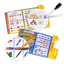 Muslim islamic E-Book reading machine,English&Arabic word letter the first children E-book multifunction educational toys