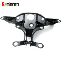 KEMiMOTO Fairing Stay Bracket Cowling Headlight For Yamaha yzf R1 2004 2005 2006 headlight fairing stay bracket
