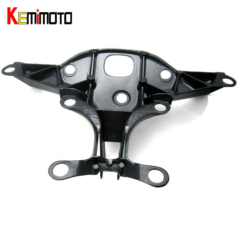KEMiMOTO Fairing Stay Bracket Cowling Headlight For Yamaha yzf R1 2004 2005 2006 headlight fairing stay bracket free customs taxes 48v 40ah portable lithium battery with 2000w bms chargrer e bike electric bicycle scooter 48v lithium battery