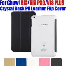 Caja de la tableta pc Chuwi VI8 HI8 PRO PLUS 8 PULGADAS de Lujo Crystal Volver PU Funda de Cuero Cubierta Para vi8 plus hi8 pro CW01